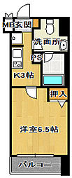 ミリアビタNo15[7階]の間取り