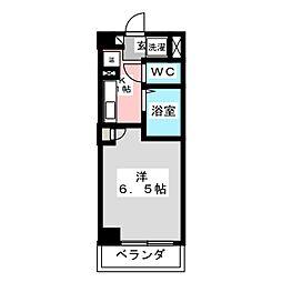 シンシア・シティ榴岡[3階]の間取り