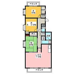 KAMENOI HOUSE[2階]の間取り