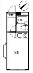 スカイピア弘明寺[2階]の間取り