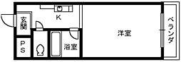 クリエ明鳳[3階]の間取り