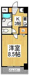 F−GARANDE[2階]の間取り