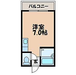 ピアマンションII[302号室]の間取り