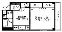 フローレンス石神井台[303号室]の間取り