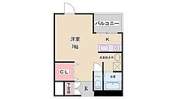 メイシンマンション[2階]の間取り