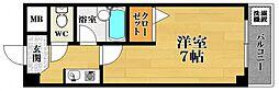 Grand Excel 天美[2階]の間取り