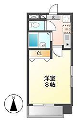 エルスタンザ鶴舞公園[3階]の間取り