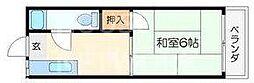 碧叡荘(ヘキエイソウ)[23号室号室]の間取り