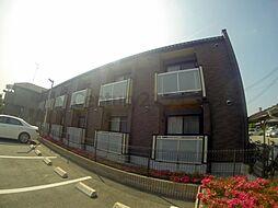 兵庫県宝塚市安倉北2丁目の賃貸アパートの外観
