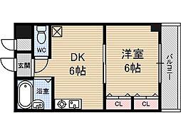 セピア茨木[2階]の間取り