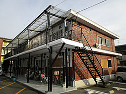コーポラスウエダ[2階]の外観