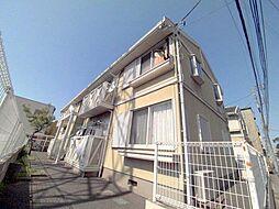 平松ハイツA棟[1階]の外観