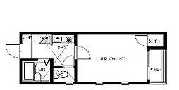 サウスピュア21[1階]の間取り