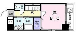 東京都墨田区横川3丁目の賃貸マンションの間取り