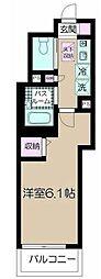 フェリーチェ阿佐ヶ谷VI[1階]の間取り