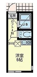 ユナイト 小田サン・ジョセップ[1階]の間取り