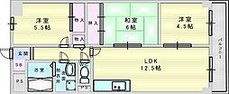イントラーダ97 2階3LDKの間取り