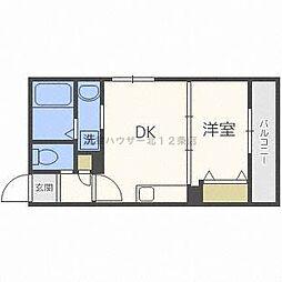 グランコンフォート札幌[4階]の間取り