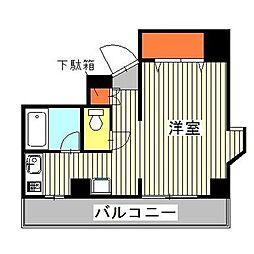 チサンマンション南麻布[4階]の間取り