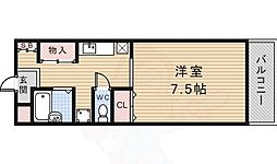 阪急宝塚本線 雲雀丘花屋敷駅 バス8分 つつじが丘下車 徒歩2分の賃貸マンション 1階1Kの間取り