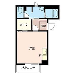 ドミール久松[3階]の間取り