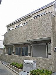 東京都練馬区栄町の賃貸アパートの外観