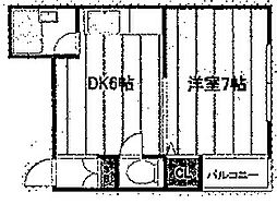 メイツ松屋町[5階]の間取り