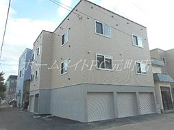 北海道札幌市東区北三十条東2丁目の賃貸アパートの外観