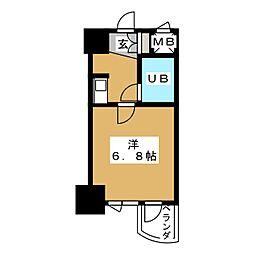 ライオンズマンション丸の内第5[6階]の間取り