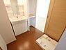 洗面,1LDK,面積37.13m2,賃料5.6万円,つくばエクスプレス 研究学園駅 徒歩16分,,茨城県つくば市学園南