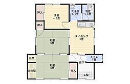 [一戸建] 福岡県八女市本村 の賃貸【/】の間取り