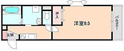 アネックス桜の町C棟[101号室]の間取り