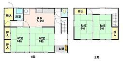 [一戸建] 青森県弘前市大字宮園3丁目 の賃貸【/】の間取り