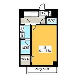 駅前町新築マンション[4階]の間取り