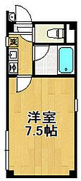 トヤママンション[2階]の間取り