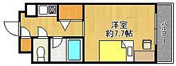 レジェンダリー甲子園[1階]の間取り