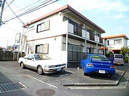 埼玉県上尾市緑丘3丁目の賃貸アパートの外観