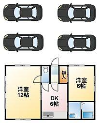 [一戸建] 千葉県山武市本須賀 の賃貸【/】の間取り
