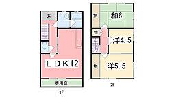 [一戸建] 兵庫県姫路市夢前町山富 の賃貸【/】の間取り