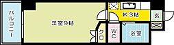ウインズ三萩野[8階]の間取り