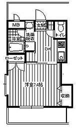 サンハウス羽犬塚[2階]の間取り