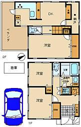 [一戸建] 東京都狛江市元和泉2丁目 の賃貸【/】の間取り