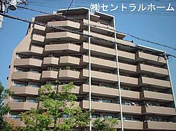 大阪府堺市北区百舌鳥梅北町2丁の賃貸マンションの外観