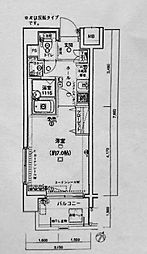 エクセリア横浜[5階]の間取り