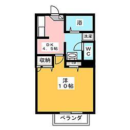 BETHICK6[2階]の間取り