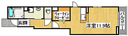 プラシードグランツII[1階]の間取り