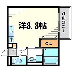 コルテセスト甲子園口[2階]の間取り