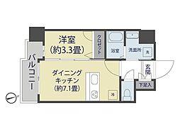 アルティジャーノD・S谷塚[4階]の間取り