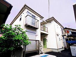 埼玉県入間市東藤沢4丁目の賃貸アパートの外観