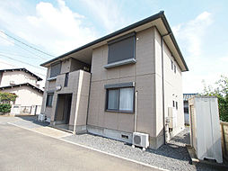 埼玉県川越市大字上戸の賃貸アパートの外観